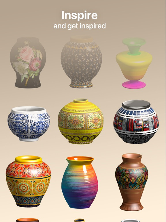 Pottery.ly 3D - 陶芸制作のおすすめ画像1