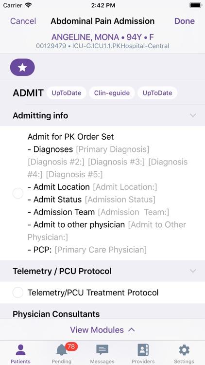 PatientKeeper screenshot-3
