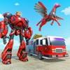 火 戦い ロボット 変身 - iPadアプリ