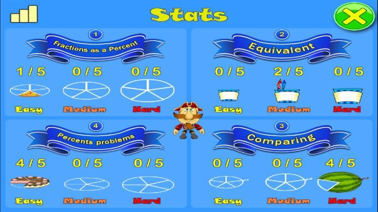 Percent and Smart Pirates Lite screenshot-4