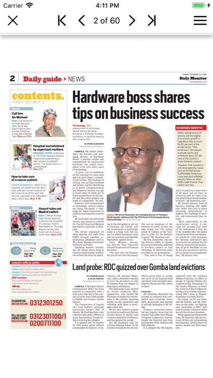Daily Monitor Epaper App