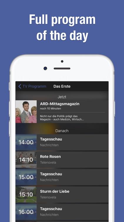 TV Guide & TV Schedule TV.de screenshot-4
