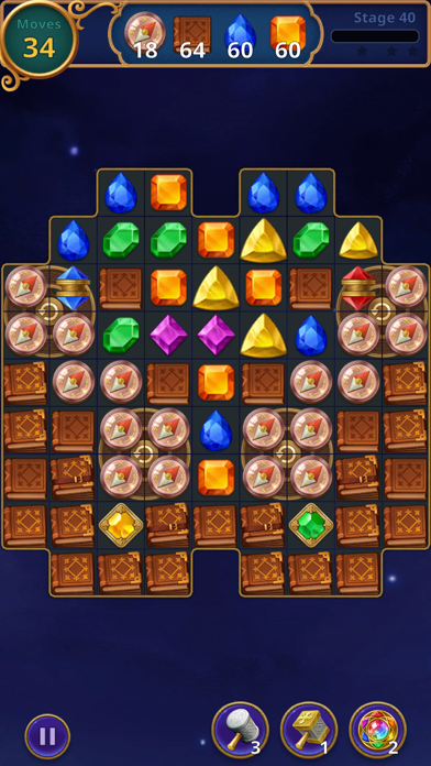 Jewels Magic: Mystery Match3 screenshot 9