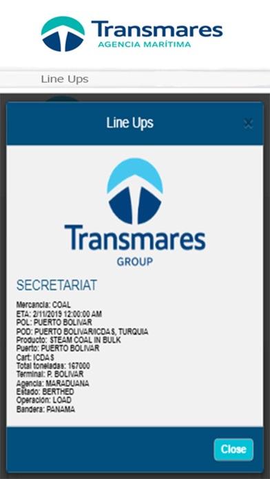 Transmares Shipping Agency2019Captura de pantalla de4