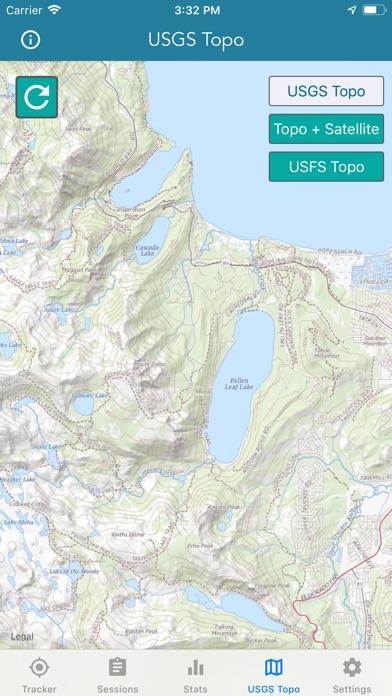 Topo Map & Hiking Tracker screenshot 4