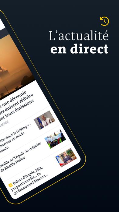 Le Monde, Actualités en direct Screenshot