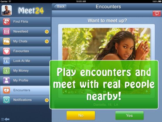 Meet24 - Flirt, Chat, Singles by WILDEC LLC (iOS, United States