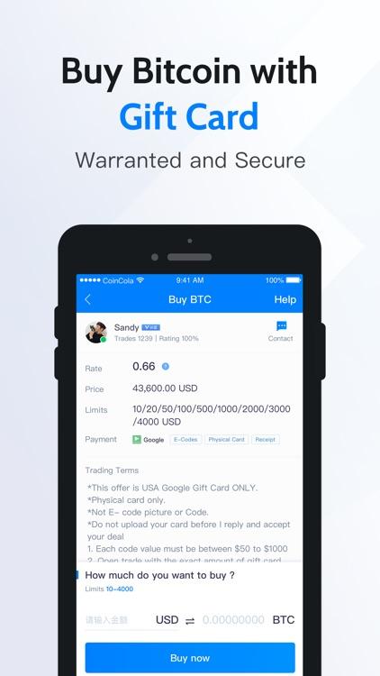 CoinCola – Buy Bitcoin screenshot-3