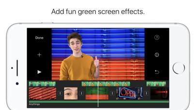 iMovie Screenshots