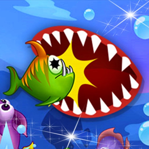 Blue Sea - Hunger Fish!