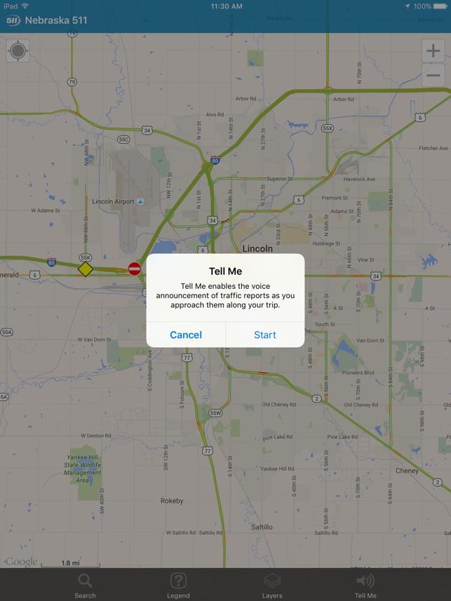Nebraska 511 on the App Store