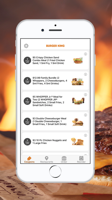 BURGER KING® App app image