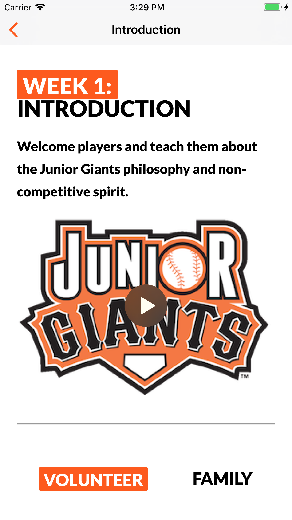 Go Junior Giants screenshot 2