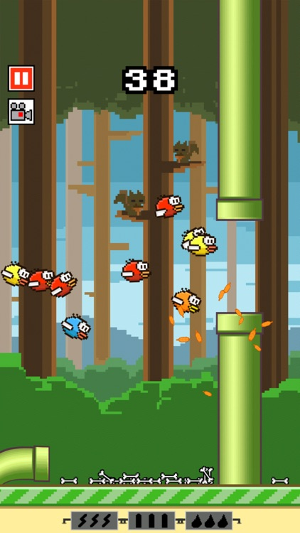 Flappy Crush screenshot-0