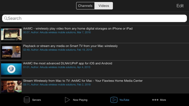 ArkMC Pro UPnP media streaming screenshot-9