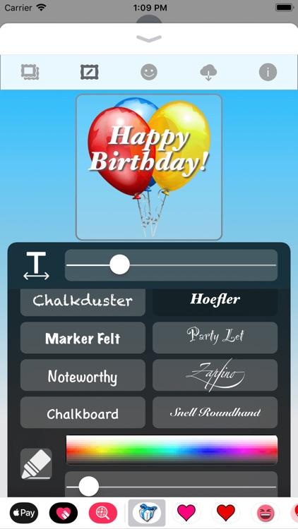 Happy Birthday! • Stickers screenshot-3