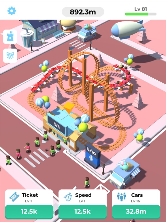 Idle Roller Coaster screenshot 8