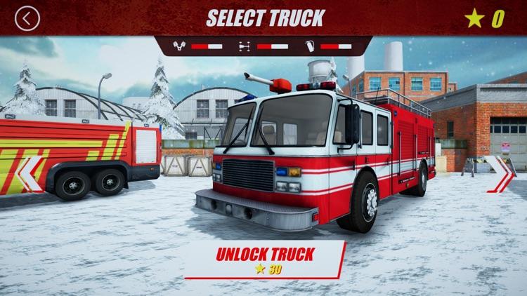 Winter Rescue Fire Trucks