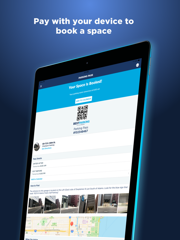 BestParking: Find the Best Daily & Monthly Parking screenshot