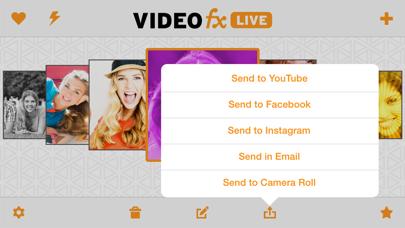 VideoFX Live screenshot four