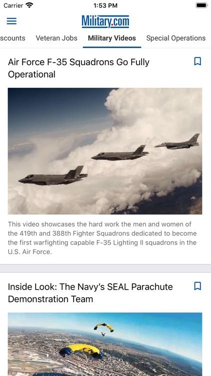 Military News by Military.com screenshot-3