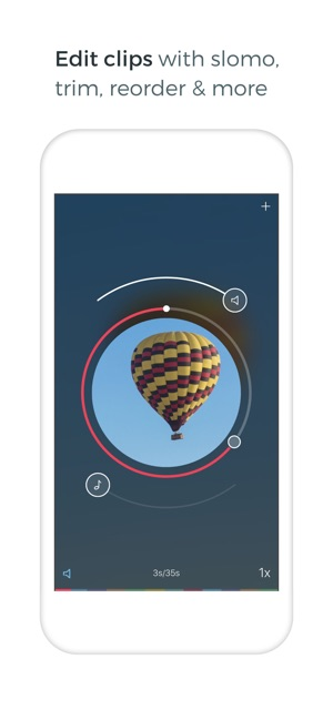 Spark Camera - Video Editor Screenshot