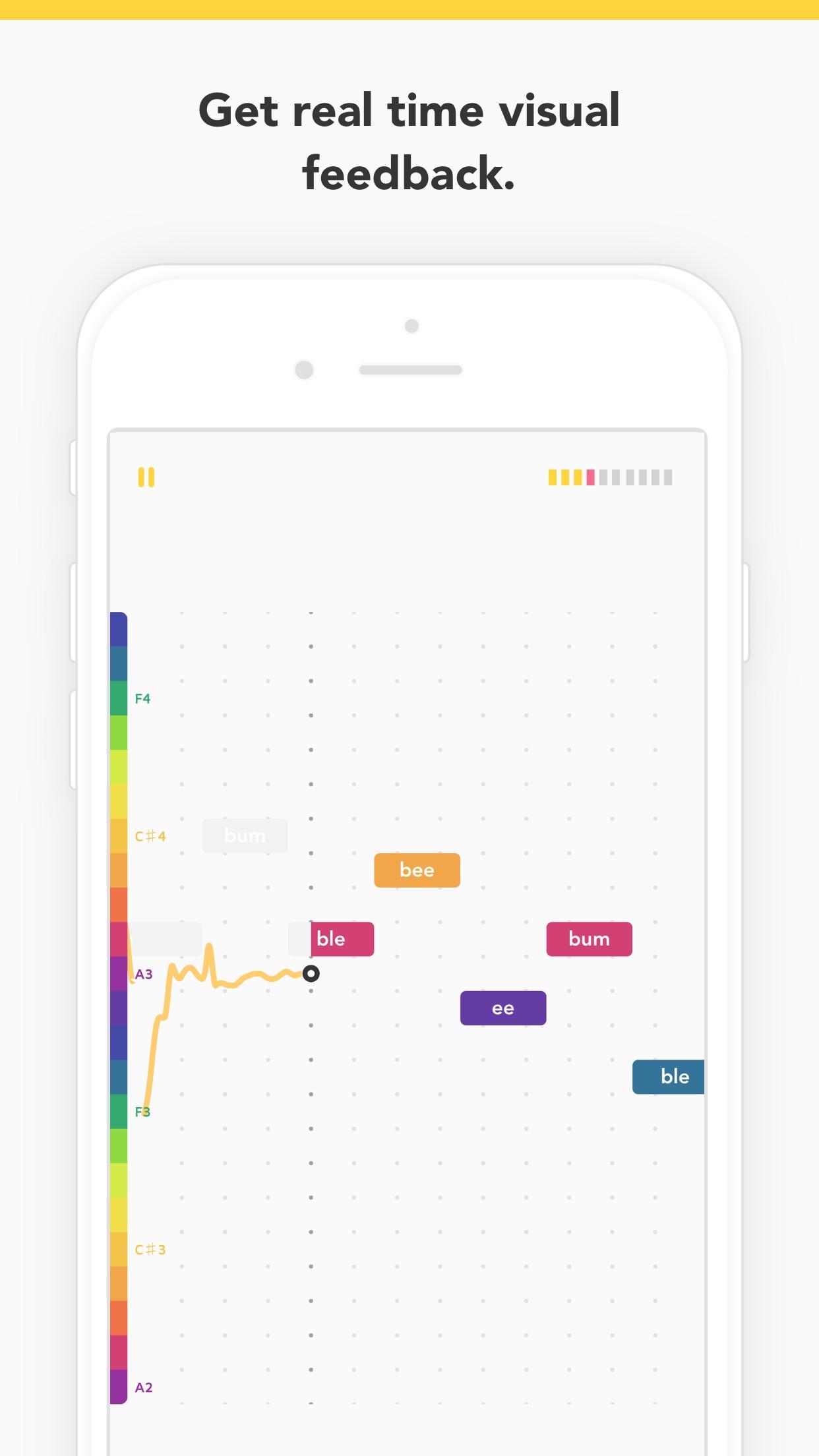 Vanido: Learn to sing Screenshot