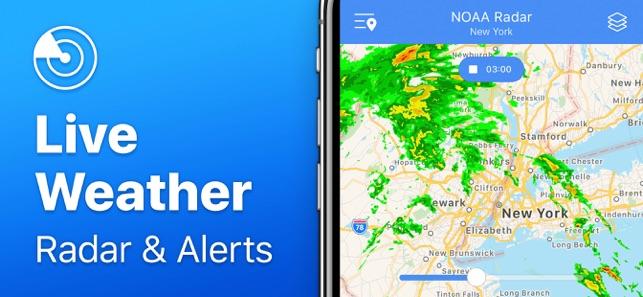 Aplikacja Weather Radar NOAA w App Store