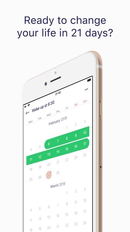 21 Days Habit - Simple Tracker