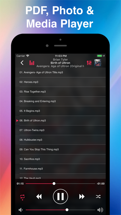Screenshot #3 pour Phone Drive Lite: File Manager