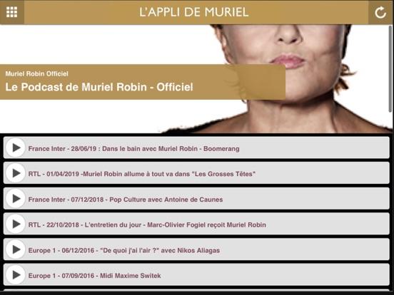 Screenshot #5 pour Muriel Robin