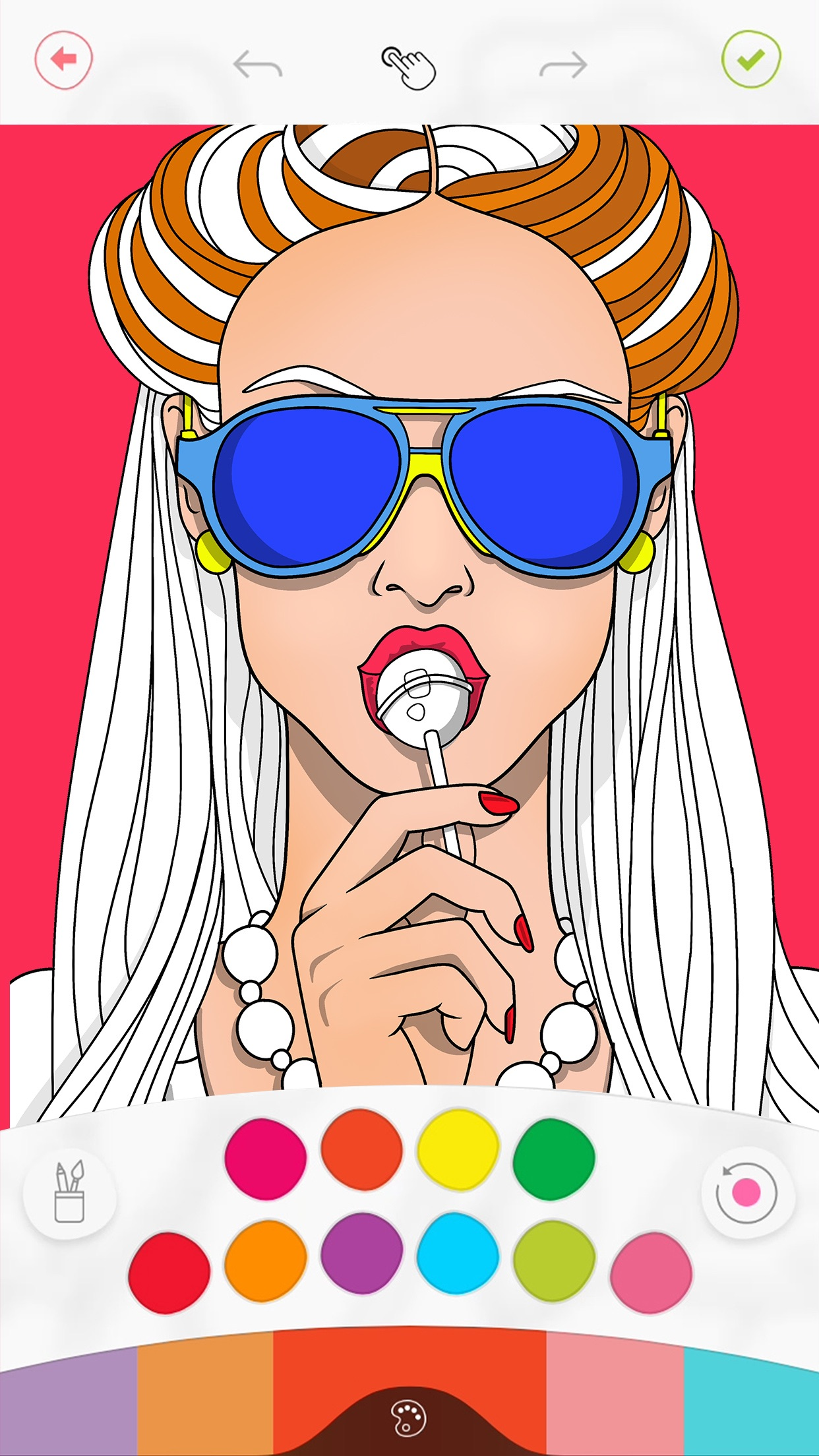 Colorfy: Coloring Art Game Screenshot