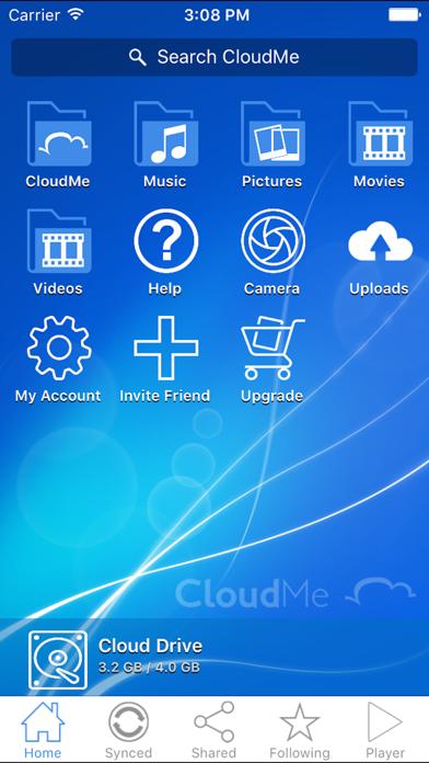 messages.download CloudMe software