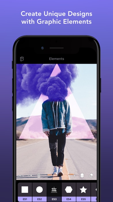 Photofox app - Photo mixing app for iPhone and iPad by