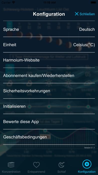 Harmonium - KlangtherapieScreenshot von 5