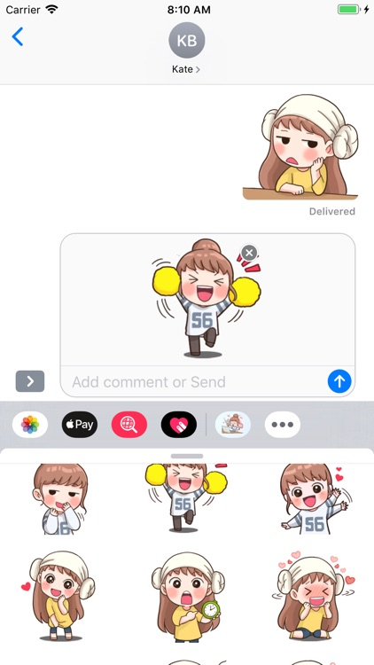 Fan Girl Stickers screenshot-9