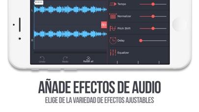 Screenshot for Editor De Audio Tool in Chile App Store