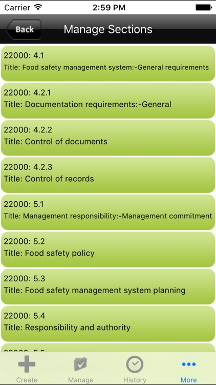ISO 22000 Food Safety Audit