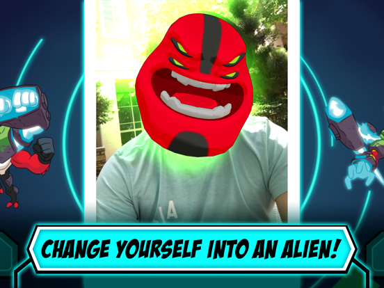 Alien Experience tablet App screenshot 3