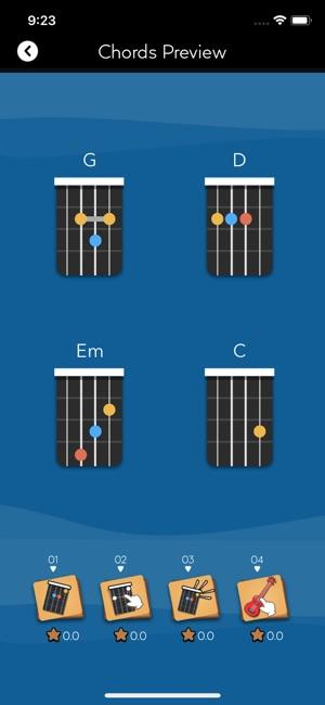 Tunefor Ukulele tuner & chords on the App Store