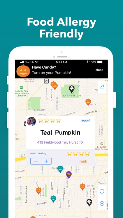 Trick or Treat Map