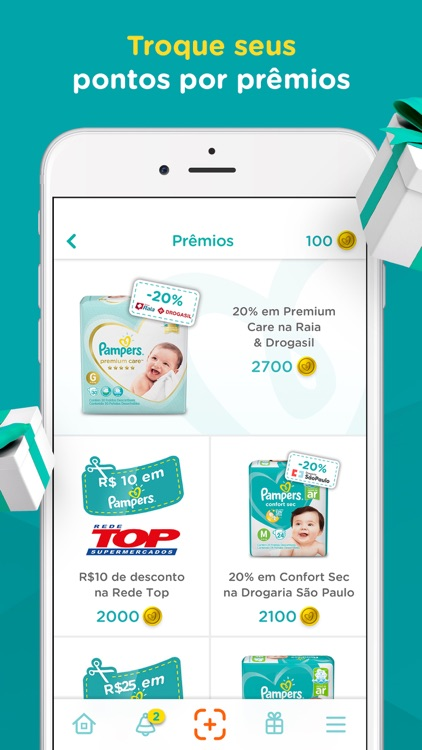 Pampers Clube: Recompensas screenshot-3