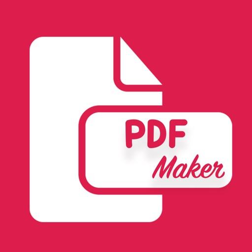 PDF Maker from photo, web, doc iOS App