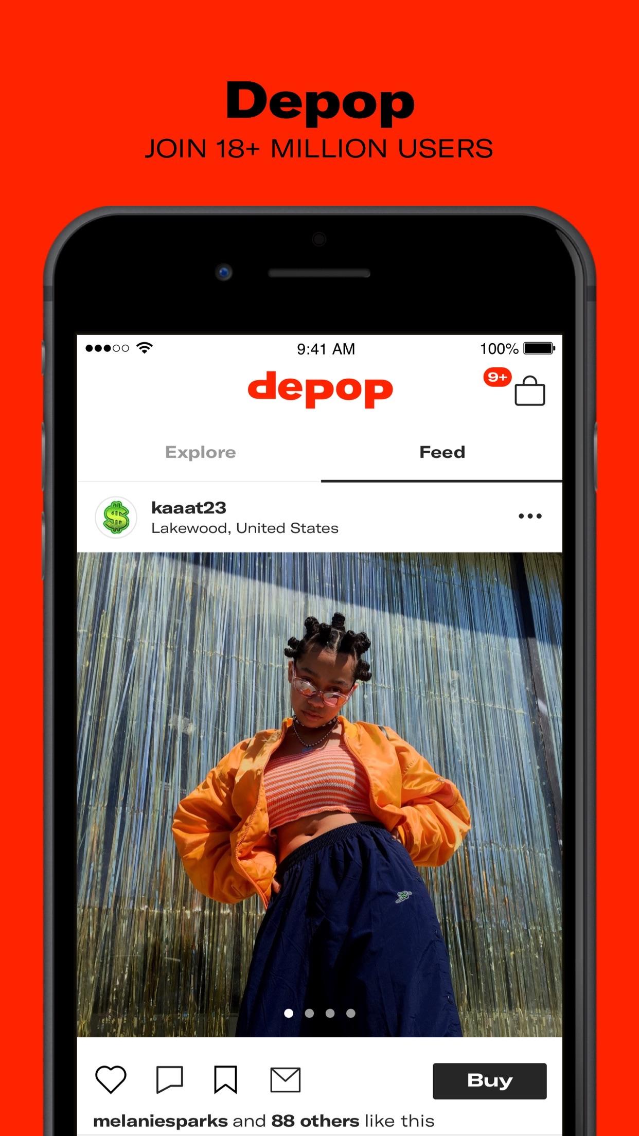 Depop - Buy and sell fashion Screenshot