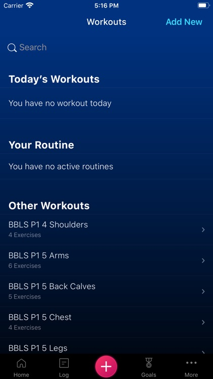 Stacked - Workout Tracker for screenshot-5