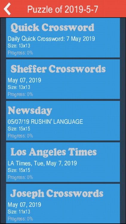 photograph regarding Sheffer Crossword Printable named Crossword Day by day: Phrase Puzzle by way of Benjamin Xu