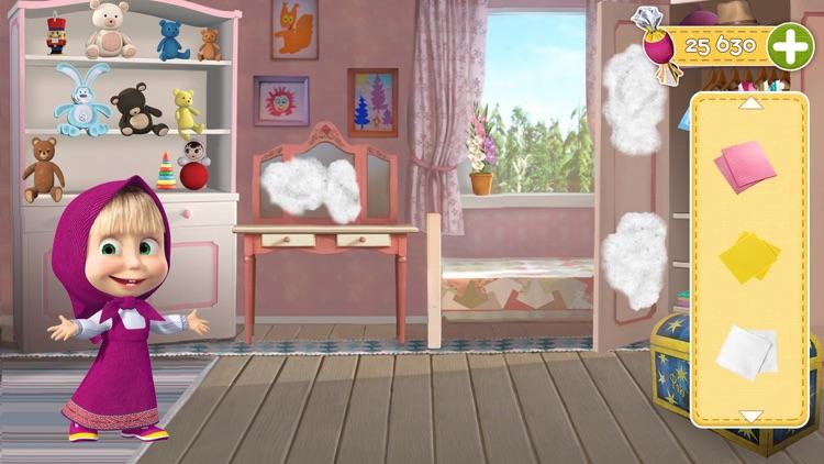Masha and the Bear Clean House screenshot-0