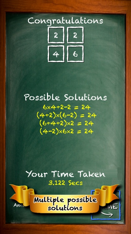 Fun Math - Make 24 Maths Game screenshot-4