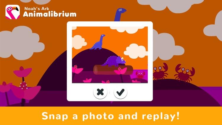 Noah's Ark Animalibrium - Kids screenshot-6