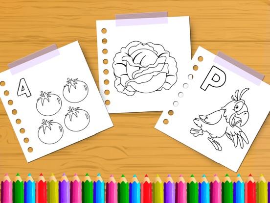 Fun Drawing Color Book Game screenshot #2